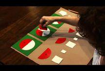 Montessori bråk