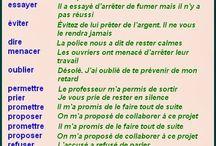 verbes suivis de preposition