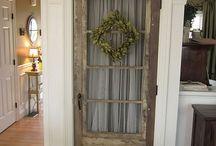 Old Door, New Door // Home Decor