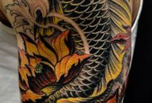 Tattoos Koi