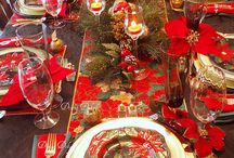 Christmas  Tablescapes / by KIM WILSON