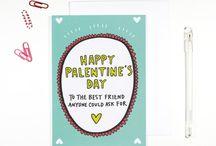 Valentine's Day and Palentine's Day