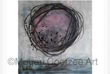 Megan Coetzee Art / Art by Megan Coetzee (Contemporary/Abstract/Minimalistic drawings)
