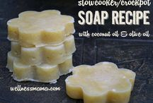 Soap Selection / Making all Natural Gorgeous Soaps