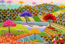 Arte naif Balquiria Barros