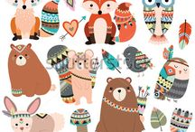forest animals party
