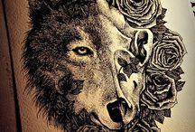 Татуировки wolf