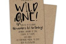 "Saxons ""wild one"" party ideas"
