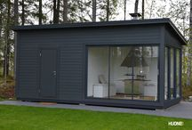 Huone1 / Modernit piharakennukset www.huone1.fi