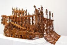 Dimensional Arts-Wood / gently hewn treasures