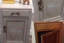 Old,Used&Pimped.by Harriet / Mooie oude meubeltjes weer een nieuw jasje geven ...