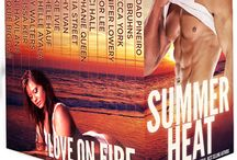 SUMMER HEAT Contemporary Romance Box Set / Available for Pre-Order March 9, 2016. 16 All New Contemporary Romances from NY Times, USA Today, and International Bestselling Authors.  Guaranteed to make your blood run hot. Passion, steamy nights, excitement, and suspense. Something to suit every reader's taste. Grab a cool drink (you'll need it!), find a hammock, and curl up for an unforgettable escape. http://bit.ly/1QXXdRK