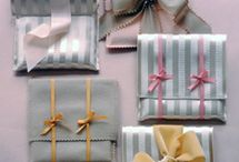Gift Ideas / DIY gifts and packaging