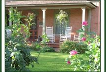 Utah's Best Porches and Patios Invite Relaxation / Inn porches and patios add a place to relax and refresh.