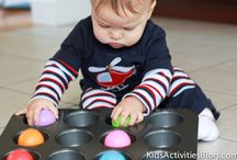 Baby/Toddler activities / by Edythe Burroughs