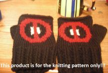 Deadpool Knitting / deadpool, deadpool knitting, deadpool knitting patterns, merc with a mouth, ryan renolds