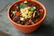 Super Bowl Chili Recipes / From classic beef chili to a quick three-bean chili, here are fantastic chili recipes for game day. / by Food & Wine