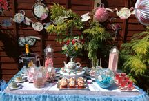 Alice in Wonderland Candy Buffet / Alice in wonderland candy buffet