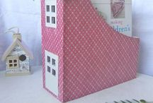 Upcycling box paper ream