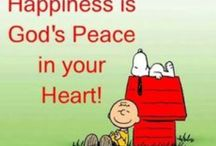 """""""Happiness Is"""" by Peanuts"""