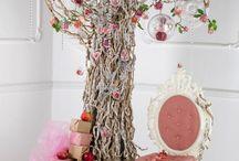 дерево из цветов