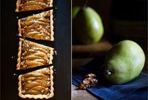 Ginger pear tart