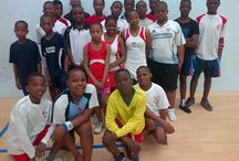 Standard Bank Squash Development Coaching Programme / Coaching programme sponsored by Standard Bank that took place at Parkview Squash Centre with Egoli Squash Members in October 2014