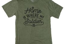 Shop Boot Campaign / Retail and apparel items that support military personnel and their families, past and present.