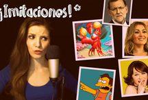 IMITACIÓN DE FAMOSOS / Vídeo de Imitaciones de personajes famosos. Imitación de cantantes, voces de dibujos animados, imitaciones de políticos, personajes de series de televisión y otras celebridades.