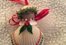 Sea shell Christmas Ornament