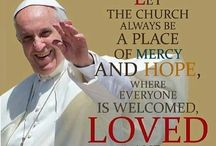 The Wisdom of Pope Francis / A collection of prayers, quotes, articles and memes that celebrate our beloved Holy Father.