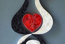 Quilled cat twins