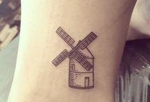 Windmill tattoo ideas