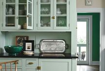 Kitchen colours and ideas