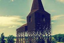 Arquitetura com efeito ilusório: Igreja que muda de aparência!