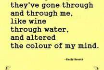 WRITING - EMILY BRONTE