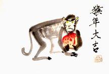 Китайская и японская каллиграфия