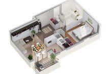 Plans 3D / Plans en 3D réalisés pour le compte de nos clients.