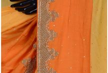 BLENDED TUSSAR EMBROIDERY SAREE