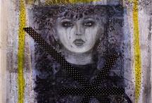 Les créations d'Anna / Venez découvrir sur ce tableau les créations d'Annabelle Vauvrecy, artiste Montpelliéraine