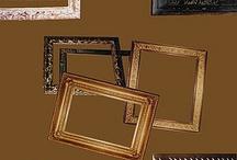 Decoración y restauración de marcos / Decoración y acabado de marcos en Barcelona. Restauración de marcos de madera y pasta.