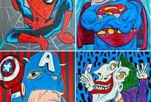 Y2 - Superheroes / by Michelle Hill