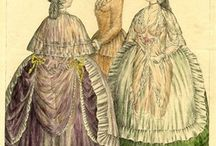 1780's Female Clothing / by Nadine Baylis