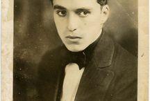 Chaplin, Keaton, Goddard & Co. / Charles Chaplin, Paulette Goddard, Buster Keaton, and their family, friends, and acquaintances.  / by Sabrina Ibarra♕