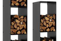 Puuteline ja takka / Fireplace,woodstorage