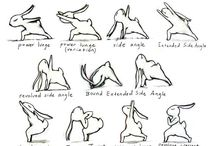 Easter Yoga Cartoon