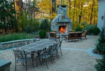 Frankin Lakes Patio and Fireplace