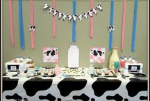 cow baby shower / by Lauran Carmichael