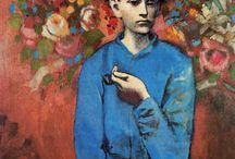 Picasso(2.1) / Early portrait