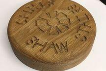 Oak Chopping Boards & Oak Cheese Board